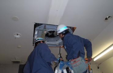 空調設備工事3